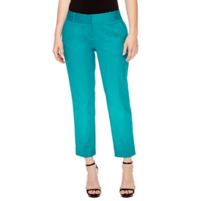 Worthington Curvy Fit Slim Leg Pants