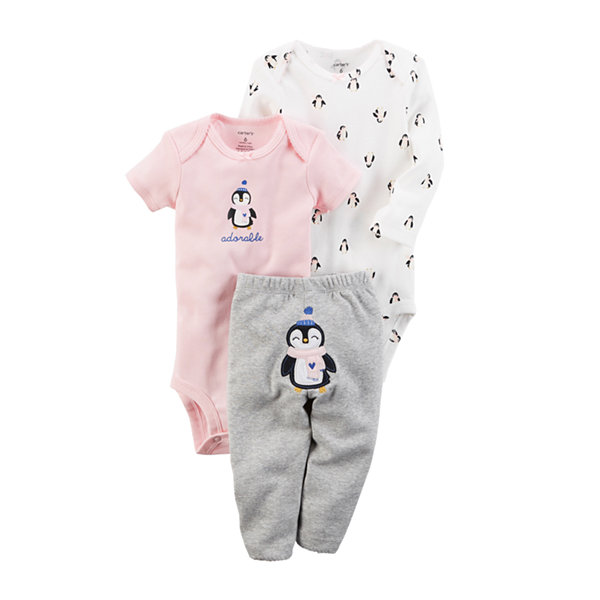 Carter's 3-pc. Layette Set-Baby Girls