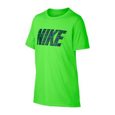 Nike Short Sleeve Legacy Shirt-Big Kid Boys