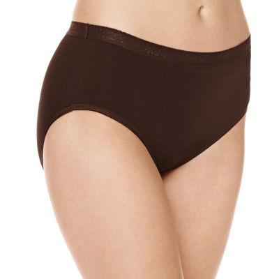 Underscore Plus Cotton Knit Hipster Panty
