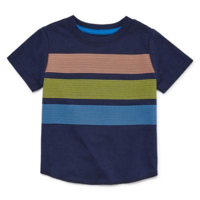 Okie Dokie Boys Crew Neck Short Sleeve T-Shirt-Baby