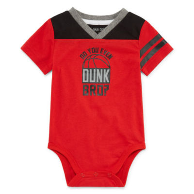 Okie Dokie Short Sleeve V-Neck Bodysuit - Baby Boy NB-24M