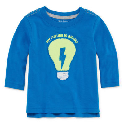 Okie Dokie Long Sleeve T-Shirt-Baby Boy NB-24M