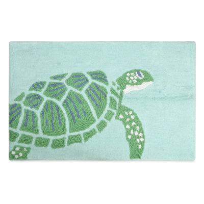 Destinations Sea Turtle Bath Rug