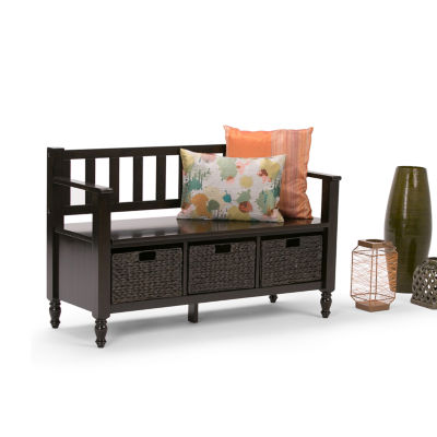 Dakota Entryway Storage Bench