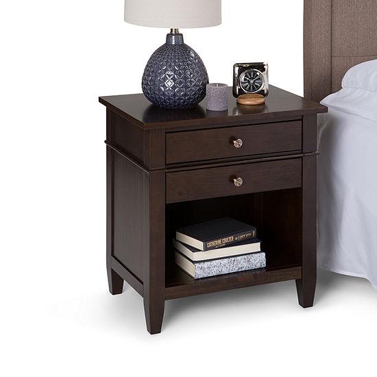 Carlton Bedside Table
