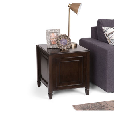 Connaught End Side Table With Tray