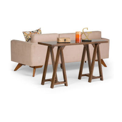 Sawhorse Console Sofa Table
