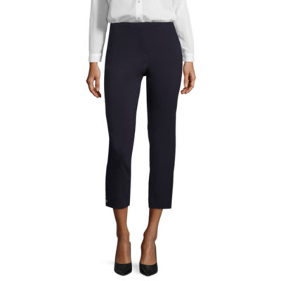 Liz Claiborne Slim Fit Woven Pull-On Pants