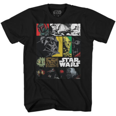 Star Wars Ink Comic Graphic Tee