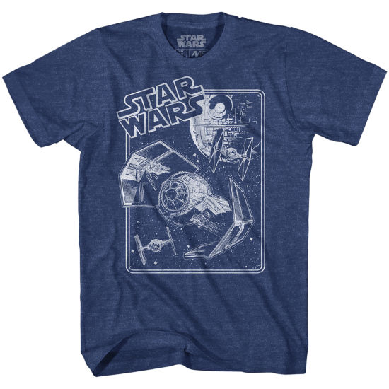 Star Wars Tie Fighter Limit Graphic Tee
