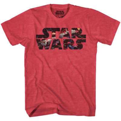 Star Wars Falcon Photo Fill Graphic Tee