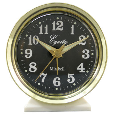 Equity by La Crosse Analog Wind-Up Bell Alarm Clock