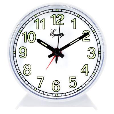 Equity by La Crosse  Analog Wind-Up Alarm Clock