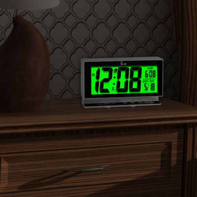 Equity by La Crosse Large LCD Night Vision Alarm Clock