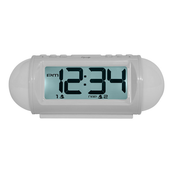 Equity by La Crosse Mood light LED alarm clock with Nature Sounds