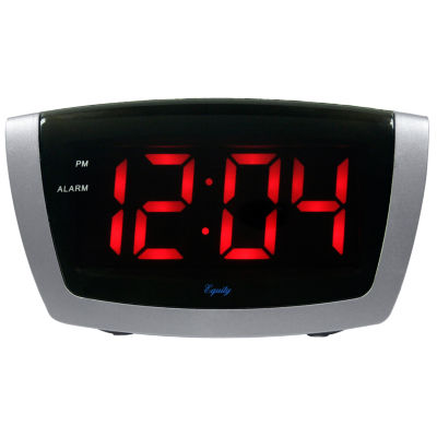 Equity by La Crosse 1.8 Inch LED Alarm Clock with HI/LO dimmer