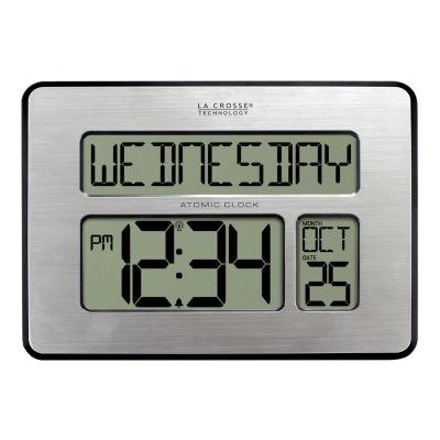 La Crosse Technology Atomic Full Calendar Digital Clock