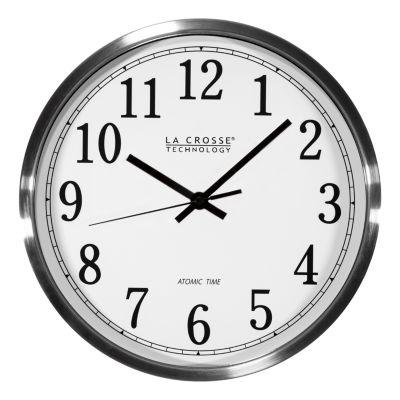 La Crosse Technology 12 Inch Atomic Analog Wall Clock