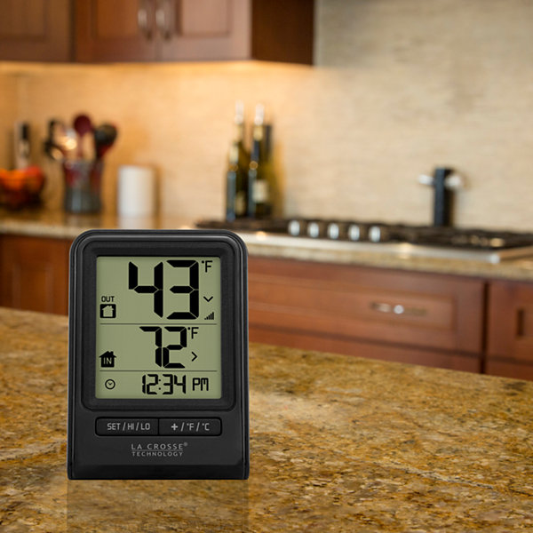 La Crosse Technology Wireless Temperature Station with Time