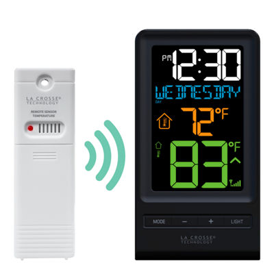La Crosse Technology Digital Multi-Color LCD Wireless Thermometer