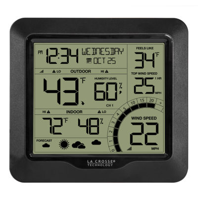 La Crosse Technology Wind Speed Weather Station with Combination 3-in-1 Sensor