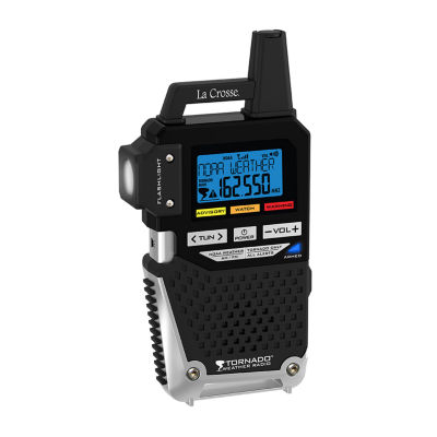 La Crosse NOAA/AM/FM Weather Alert Radio with One Button Alert for TORNADO ONLY