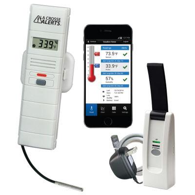 La Crosse Alerts Wireless Monitor System Set with Wet Probe