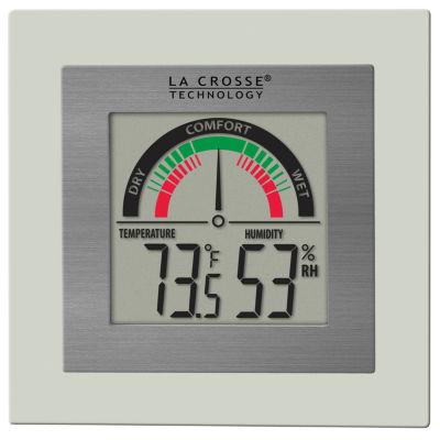 La Crosse Technology Indoor Comfort Meter with Temperature and Humidity