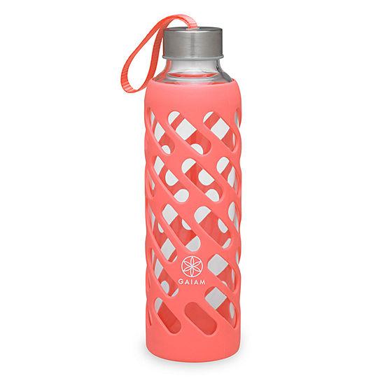 Gaiam 20oz Sure Grip Guava Water Bottle