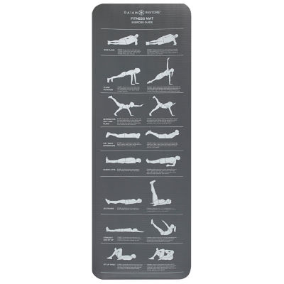 Gaiam Restore Selfguided Fitness Mat
