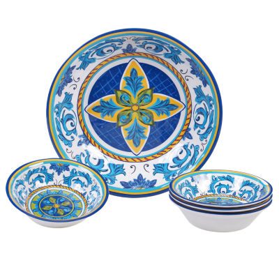 Certified International Lucca 5-pc. Salad Bowl