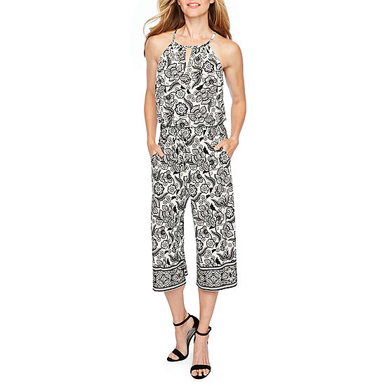 15924a3c3753 London Style Sleeveless Jumpsuit - JCPenney