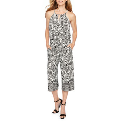 London Style Sleeveless Jumpsuit