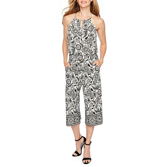490748fddcb London Style Sleeveless Jumpsuit - JCPenney