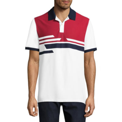 St. John's Bay Short Sleeve Pique Polo Shirt