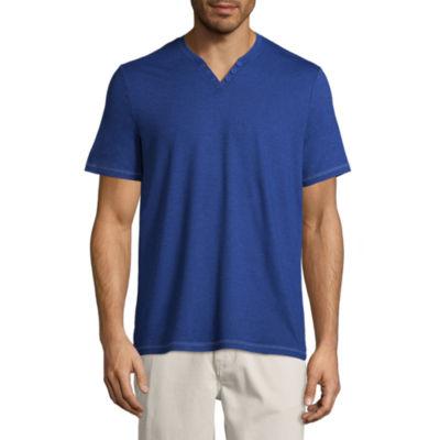 Boston Traders Short Sleeve Henley Shirt