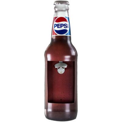 Vintage Pepsi Wall Mounted Metal Bottle Opener