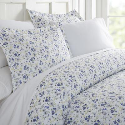 Casual Comfort Premium Ultra Soft 3 Piece Blossoms Print Duvet Cover Set