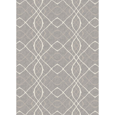 RUGGABLE Amara Washable Indoor Outdoor Stain Resistant Pet Accent Area and Runner Rugs