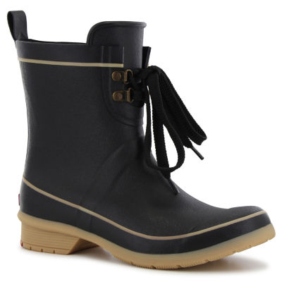 Chooka Fashion Womens Whidby Rain Boots Waterproof Pull-on