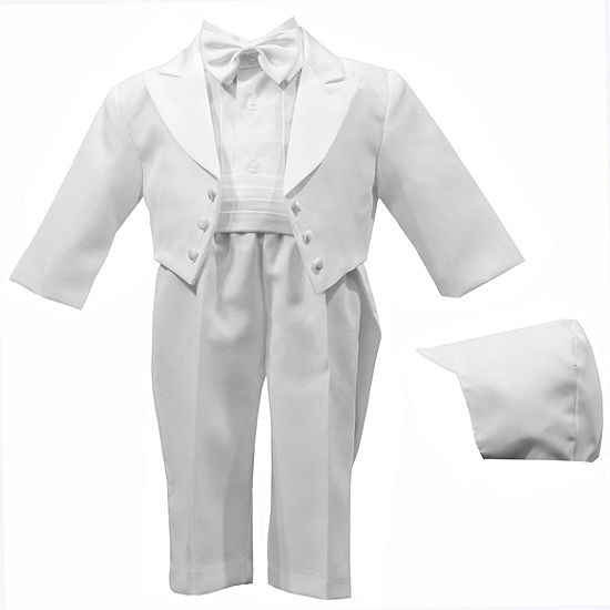 Keepsake® 5-pc. White Tuxedo Set - Boys newborn-24m