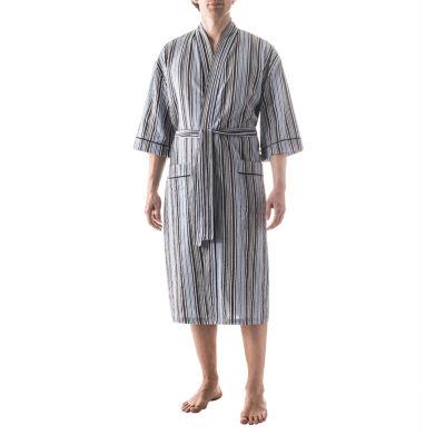 Residence Seersucker Kimono Robe