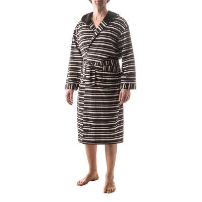 Residence Striped Hooded Robe