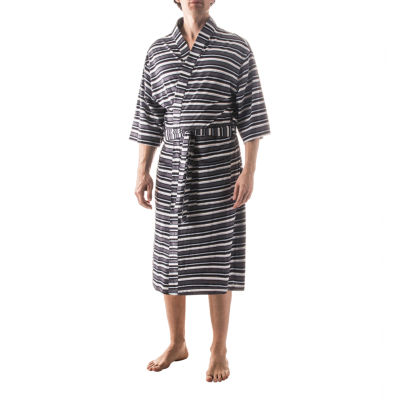 Residence Striped Kimono Robe