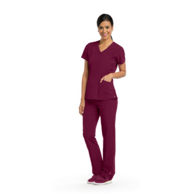 Barco™ One Women's 5105 V-Neck Perforated Detail Performance Scrub Top