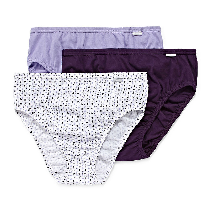 Jockey Plus Elance Queen 3 Pair High Cut Panty plus size,  plus size fashion plus size appare