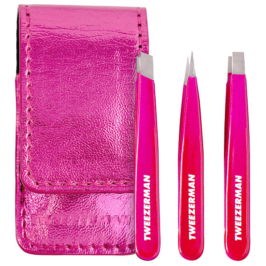 Tweezerman Mini Pink Perfection Tweezer Set