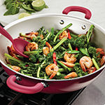 "Rachael Ray Create Delicious 14.25"" Aluminum Non-Stick Wok"