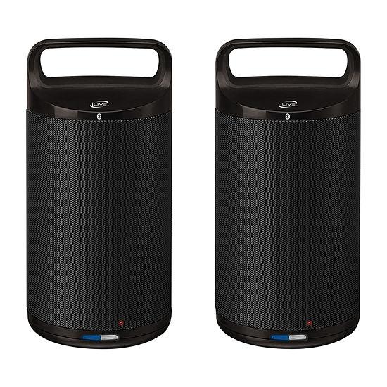 iLive ISBW2113B Indoor/Outdoor Dual Bluetooth Speakers
